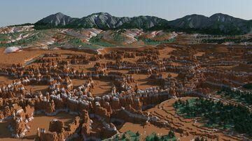 The Needles [2k x 2k] Minecraft Map & Project