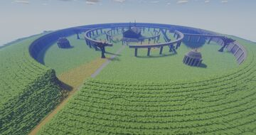 Great Tomb of Nazarick - Overlord Minecraft Map & Project