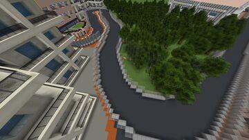 🇲🇨 Circuit de Monaco, Monaco (1.12) Minecraft Map & Project