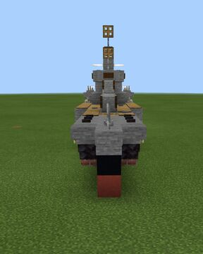 uss worcester (1.5 scale) (my design) Minecraft Map & Project