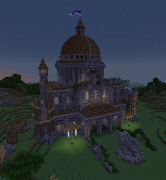 Grand Library Minecraft Map & Project