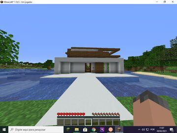 casa moderna Minecraft Map & Project