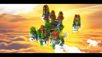 Skywars Fantasy Lobby   $3 USD Minecraft Map & Project