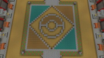 Pokémon Stadium: Palace Minecraft Map & Project