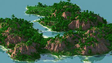 Pirate Jarate - 4000x4000 | Landscape Map 1.16 | Bedrock support Minecraft Map & Project