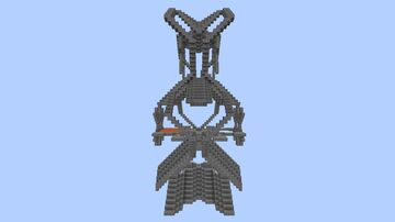 Futuristic House 001 Minecraft Map & Project