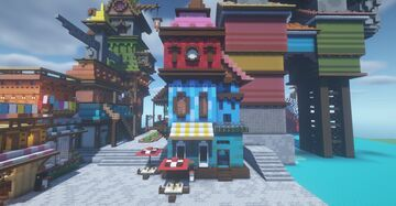 Cozy shop. Minecraft Map & Project