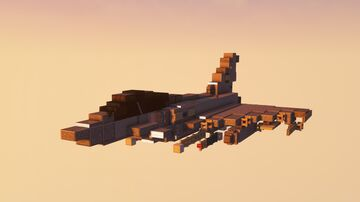 Royal Air Force Eurofighter Typhoon FGR.MK 4 Minecraft Map & Project