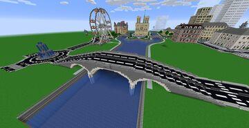 Arch Bridge / Pont à arches Minecraft Map & Project