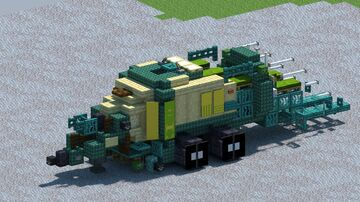 Krone Big Pack 1290 HDP, Large Square Baler [With Download] Minecraft Map & Project
