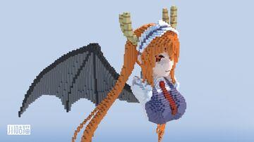 Tohru トール(Miss Kobayashi's Dragon Maid 小林さんちのメイドラゴン) Minecraft Map & Project