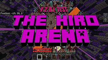 The Hiro Arena Minecraft Map & Project
