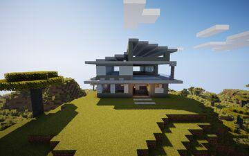 Nueva Casa Moderna Minecraft Map & Project