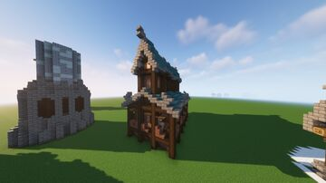 Fantasy Church Schematic (FREE DOWNLOAD) Minecraft Map & Project