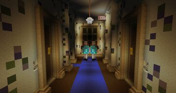 "😱 Iconic scene from Stanley Kubrick's ""The Shining"" 😱 Minecraft Map & Project"