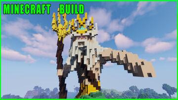 Minecraft Build    The Poseidon of Melos Minecraft Map & Project