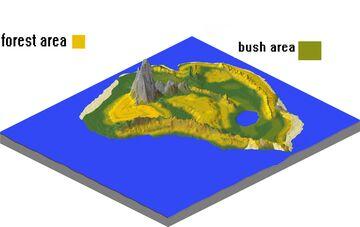 isla nublar medium scale 1.12.2 Minecraft Map & Project