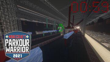 We recreated Ninja Warrior in Minecraft Minecraft Map & Project