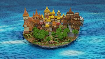 WoodGate Full project Minecraft Map & Project