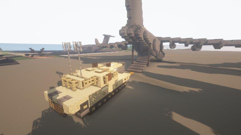 Tank loading into a c-17 Globemaster