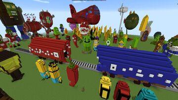 Train Eater  битва поездов пожирателей Minecraft Map & Project