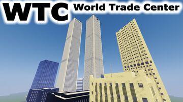 Original WTC (World Trade Center) 1973 - 2001 Minecraft Map & Project