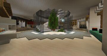 MMU Minecraft Competition -- Futuristic University Minecraft Map & Project