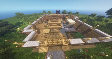 Melon Village number two: Outpost Minecraft Map & Project
