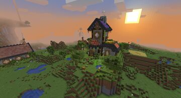 Humble village Minecraft Map & Project