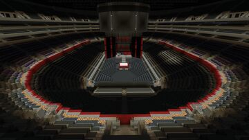 WWE Raw 2015 At Staples Centre Minecraft Map & Project