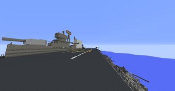 [CV-3] USS Saratoga [1.12.2] with mods Minecraft Map & Project
