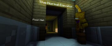The Normal Elevator 1.3 (Halloween!) Minecraft Map & Project