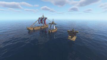 Valheim Boats Minecraft Map & Project