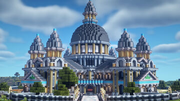 Grand Exchange (Villager Trading Hall) Minecraft Map & Project