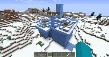 Zamek z lodu: mapa na pvp po polsku Minecraft Map & Project