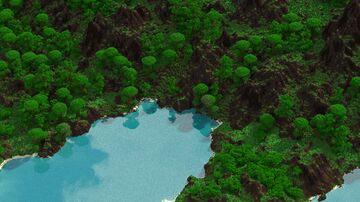 Tropical Lands (custom map - 1.5k by 1.5k) Minecraft Map & Project