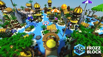Summer Lobby Minecraft Map & Project