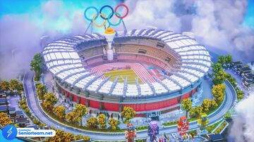 Olympic Arena Minecraft Map & Project