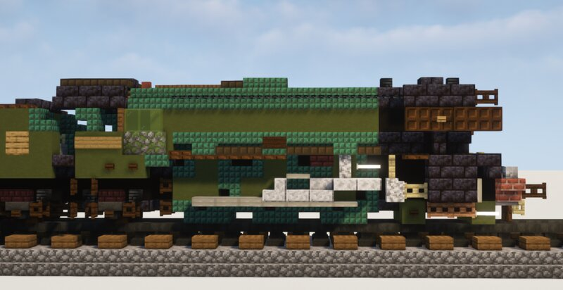Main Locomotive side view