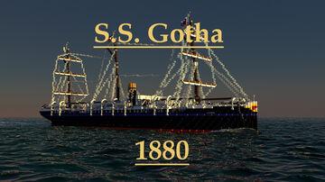 S.S. Gotha 1880 Minecraft Map & Project