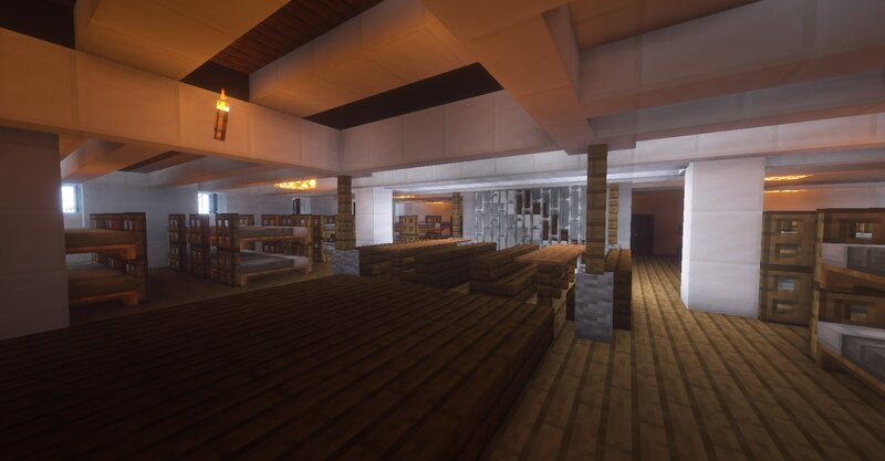 One of the Steerage areas