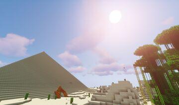 Scorching Desert Hunt Minecraft Map & Project