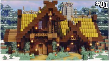 Minecraft Tutorial: Viking Blacksmith (Download) Minecraft Map & Project