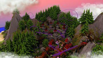 🌍 CASTLE VILLAGE 🌍 Minecraft Map & Project