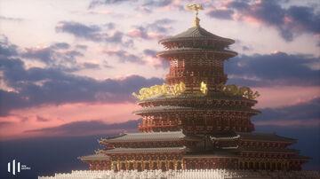 """明堂 Mingtang """"The Hall of Bright""""  (Chinese architecture 08) Minecraft Map & Project"""