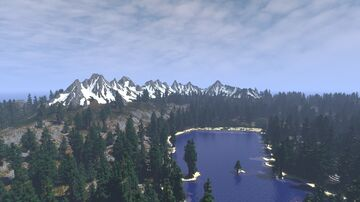 The cold Island - Riverram Isle (2k, Download, 1.16+) Minecraft Map & Project