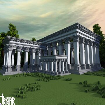 The Orders of Architecture +tutorial Minecraft Map & Project