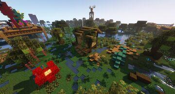 Abandoned Hut Minecraft Map & Project