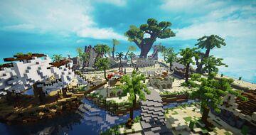 HCF Spawn - Summer Theme Minecraft Map & Project