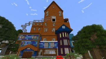 Hello Neighbor Minecraft Map & Project